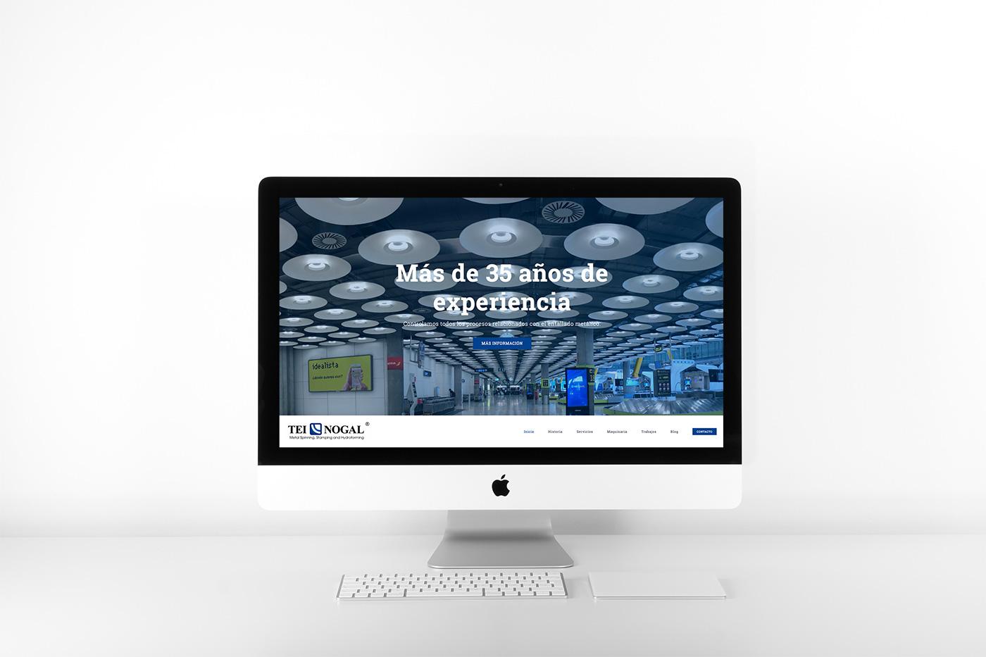 Nueva web de teinogal