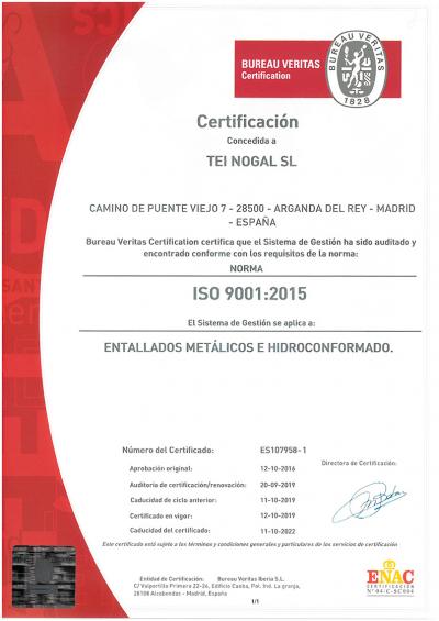 bureau veritas 9001-2015