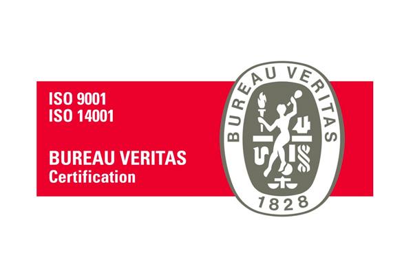 certificados Iso 9001 e Iso 14001